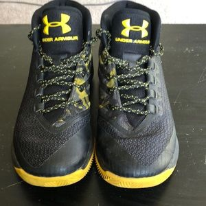 Curry 3 Black and Yellow